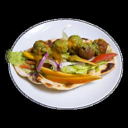 Vegetariana Naan Wrap