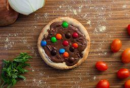 Esfiha Nutella com Mm's