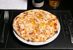 Pizza Brie e Amêndoas