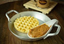 Waffle Tradicional Doce Leite
