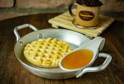Waffle Tradicional Mel