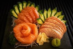 Sashimi Salmão Maçaricado 15 Peças
