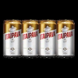 4x Cerveja Itaipava Lata 269 mL