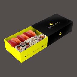 Petite Box Salmão E Atum - 14 Unidades