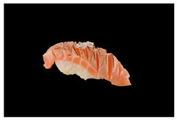 Sushi de Salmão Brûlée