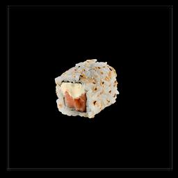 Uramaki Salmão Com Cream Cheese