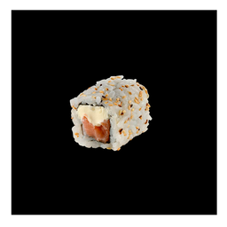 Uramaki Salmão com Cream Cheese