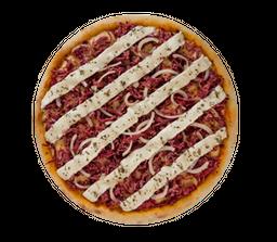 Pizza de Carne Seca com Philadelphia