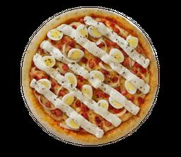 Pizza Egg & Bacon