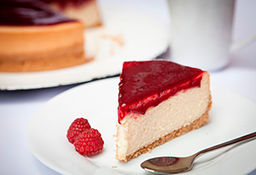 Cheesecake Tradicional de Frutas Vermelhas