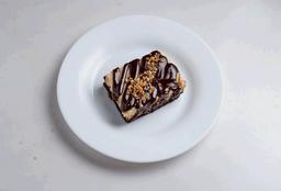 Brownie Cheesecake Nutella com Avelãs
