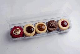 Kit Com 5 Minis Cheesecakes