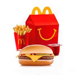 McLanche Feliz - Cheeseburger