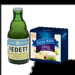 Happy Hour com Brie e Cerveja