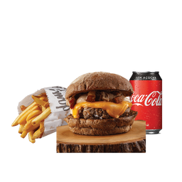 Combo Burger Grunge