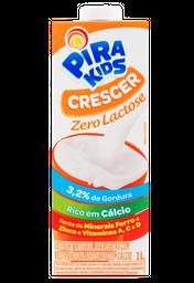 Leite UHT Pirakids Integral sem Lactose 1 L
