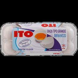 Ovo Ito Branco Grande Ômega 3 10 Unidades