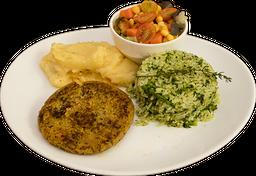 Hambúrguer Vegetariano In Natura