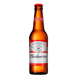 Cerveja Budweiser - Long Neck 343  mL- Cód. 11085