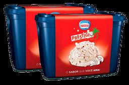 2x Sorvete Nestlé Prestígio 1,5 L