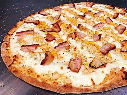 Pizza de Alho e Bacon Eat's