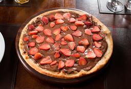 Pizza Chocolate com Morango