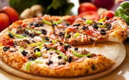 Pizza de Alho Poró