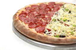 Pizza Meio à Meio - Média
