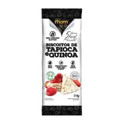 Biscoito Tapioca Fhom Sem Glúten Quinoa 4 g