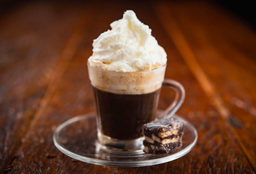 Espresso com Chantilly