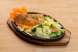 Teppanyaki de Salmão - 100072