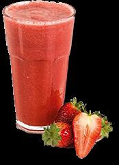 Suco de Fruta de Morango