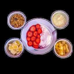 Açaí com Iogurte Grego Natural Médio