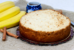 Cuca de Doce de Leite com Banana e Canela 1,2 Kg