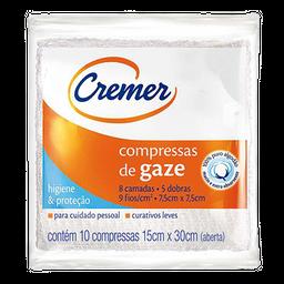 Compressa Gaze Cremer 75x75 10 Und 2x25