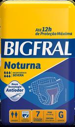 Fralda Geriátrica Bigfral Noturna G - 7 Unds