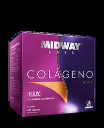 Colágeno Way Midway Com 60 Cápsulas