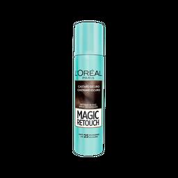 Spray Retoque de Raiz Instantâneo Magic Retouch Castanho Escuro