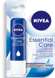 Protetor Labial Nivea Lip Care Essential 4.9 g