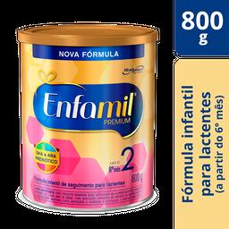 Leite Infantil Enfamil Premium 2 800 g