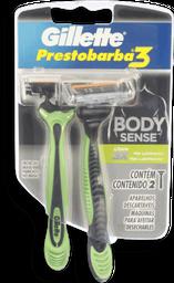 Aparelho de Barbear Gillette Prestobarba3 BodySense 2 U