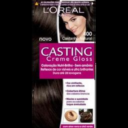 Coloração N° 400 Castanho Natural L'Oréal 1 Un