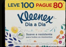 Lenço Suave Kleenex Leve 100 Pague 80