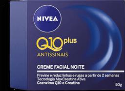 Creme Facial Noite Nivea Q10 Plus Antissinais 50g