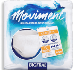 Roupa Intima Bigfral Moviment G/Xg C/8