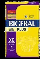 Fralda Geriatrica Bigfral Plus Xg C/7