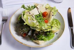 Insalata Verde Ai Carciofini, Pomodori & Parmigiano