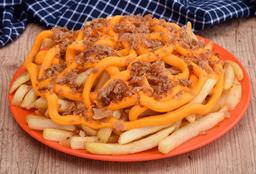 Porção Fritas Tribunal Batata + Cheddar + Bacon