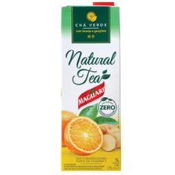 Castelo Maguary Chá Natural Tea Verde Laranja E Gengibre