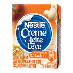 Creme De Leite Zero Lactose Nestle 200 G